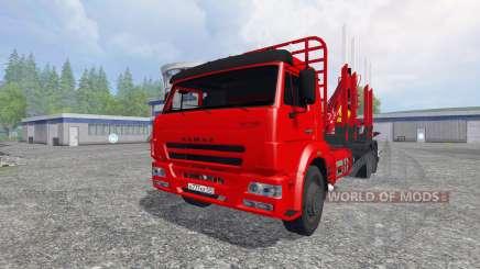 KamAZ-65117 [bois] pour Farming Simulator 2015