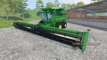 John Deere S 690i [washable] pour Farming Simulator 2015