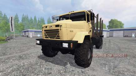 Kraz-5131 pour Farming Simulator 2015