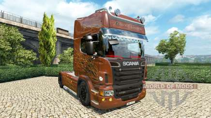 Scania R Black Amber v2.5 für Euro Truck Simulator 2