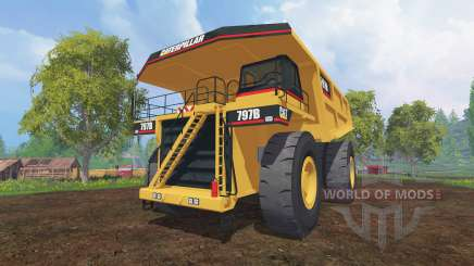 Caterpillar 797B pour Farming Simulator 2015