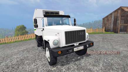 ГАЗ-4732 [John Deere-Dienst] für Farming Simulator 2015