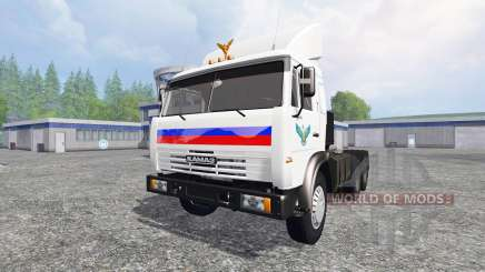 KamAZ 54115 v1.1 für Farming Simulator 2015