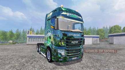 Scania R700 [perrier] pour Farming Simulator 2015