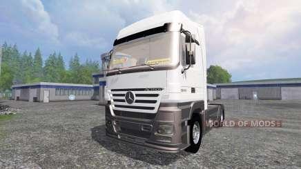 Mercedes-Benz Actros 1844 für Farming Simulator 2015
