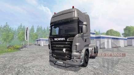 Scania R730 [Silver] v3.1 für Farming Simulator 2015
