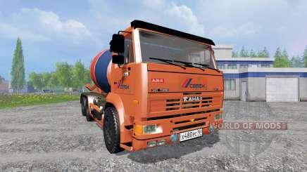 KamAZ-6520 [blender] pour Farming Simulator 2015