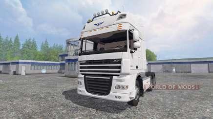 DAF XF105 v0.8 pour Farming Simulator 2015