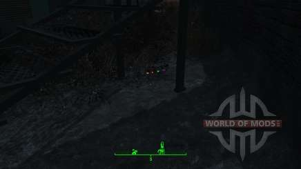 L'éclairage de magazines et de hologr pour Fallout 4