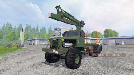 KrAZ-255 B1 [bois] v2.5 pour Farming Simulator 2015