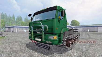 KamAZ-5460 [crawler] pour Farming Simulator 2015