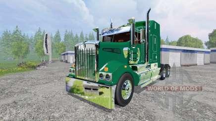 Kenworth T908 [John Deere] für Farming Simulator 2015