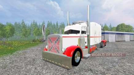 Peterbilt 359 [long haul] pour Farming Simulator 2015