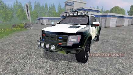 Ford F-150 Raptor Police für Farming Simulator 2015