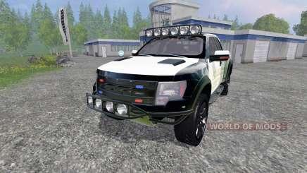 Ford F-150 Raptor Police pour Farming Simulator 2015