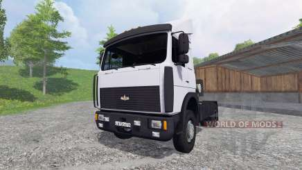 MAZ-5432 [blanc] pour Farming Simulator 2015
