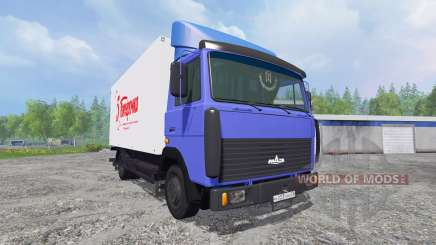 MAZ-4370 [van] für Farming Simulator 2015