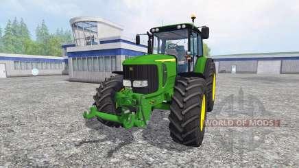 John Deere 6520 pour Farming Simulator 2015
