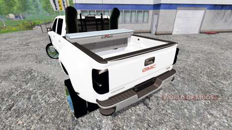GMC Sierra 3500 2014 pour Farming Simulator 2015
