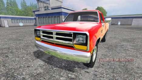 Dodge D-250 für Farming Simulator 2015