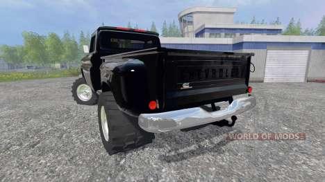 Chevrolet C10 1966 v1.1 pour Farming Simulator 2015