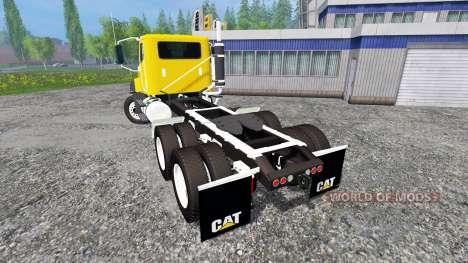 Caterpillar CT660 v1.0 pour Farming Simulator 2015