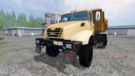 Le KrAZ B18.1 v1.0 pour Farming Simulator 2015