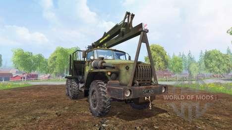 Ural-4320 [Forestier] pour Farming Simulator 2015