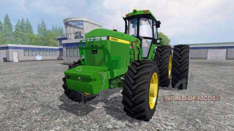 John Deere 4960 4WD FL pour Farming Simulator 2015