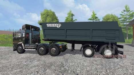 KamAZ-54115 [Nordwest-Allianz der Designer-9517] für Farming Simulator 2015