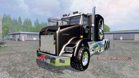 Kenworth T800 [TriAxle Sleeper] pour Farming Simulator 2015