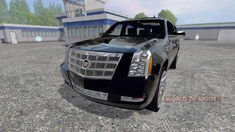 Cadillac Escalade pour Farming Simulator 2015