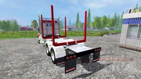 Kenworth T908 [USA] pour Farming Simulator 2015