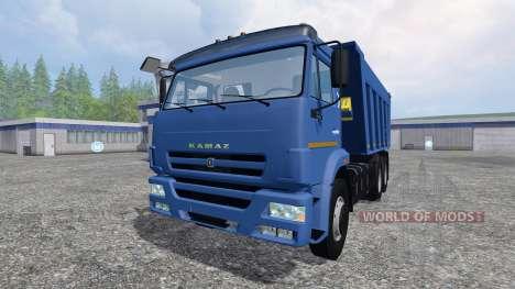KamAZ-6520 für Farming Simulator 2015