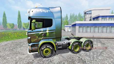 Scania R730 [alien] v2.1 pour Farming Simulator 2015