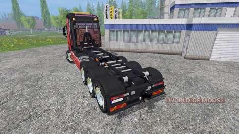 Volvo FH16 8x4 v3.0 pour Farming Simulator 2015