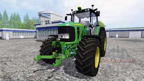 John Deere 7530 Premium v1.2 pour Farming Simulator 2015