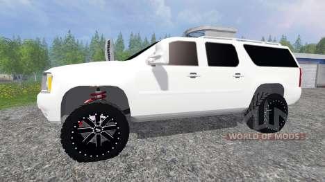 GMC Yukon pour Farming Simulator 2015