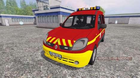 Renault Kangoo [fire service] pour Farming Simulator 2015
