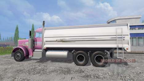 Peterbilt 379 [grain truck] pour Farming Simulator 2015