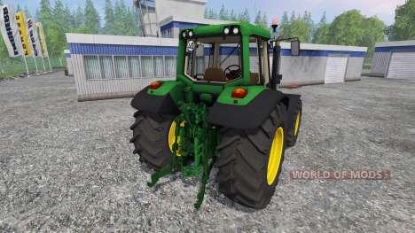John Deere 6620 v2.0 für Farming Simulator 2015