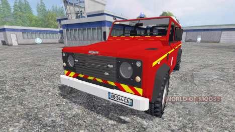 Land Rover Defender 110 für Farming Simulator 2015