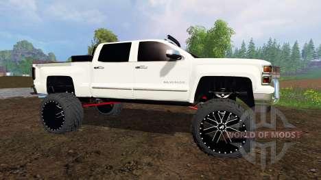 Chevrolet Silverado 2015 für Farming Simulator 2015