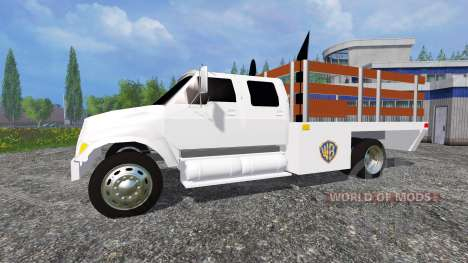 Ford F-650 [stakebed] pour Farming Simulator 2015
