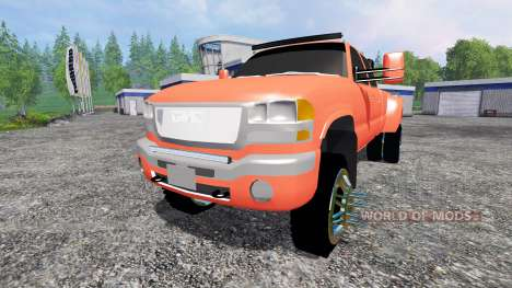 GMC Sierra 3500 [lifted] pour Farming Simulator 2015