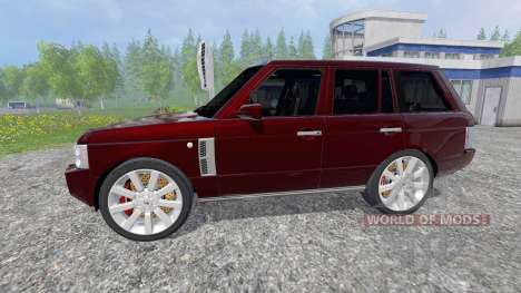 Range Rover Supercharged 4WD pour Farming Simulator 2015