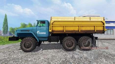 Ural-4320 Gazprom pour Farming Simulator 2015