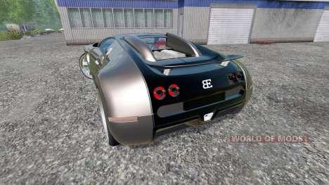 Bugatti Veyron v2.0 pour Farming Simulator 2015