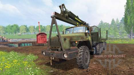 Ural-4320 [Forestier] v1.1 pour Farming Simulator 2015