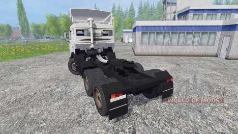 KamAZ-54115 pour Farming Simulator 2015